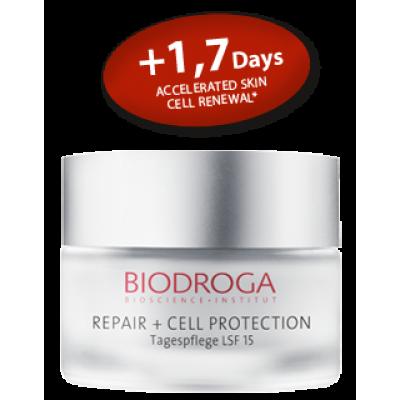 Омолоджуючий денний крем проти фотостаріння СПФ-15 Biodroga Day Care SPF 15