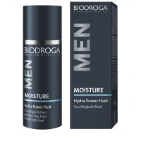 Зволожуючий крем для обличчя і бороди Biodroga Hydra Power Fluid