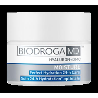 Ідеально зволожуючий крем 24-годинної дії з гіалуроновою кислотою Biodroga MD Perfect Hydration 24-h Care