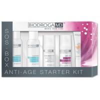 Набір омолоджувальної косметики Biodroga MD Anti-Age Starter Kit