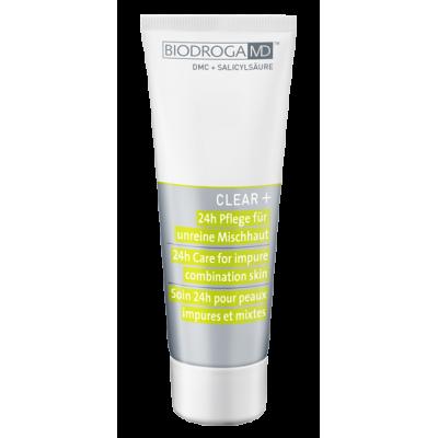 Крем для лікування проблемної комбінованої шкіри 24-годинного дії Biodroga MD 24h Care for impure combination skin