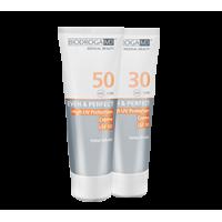 Сонцезахисний крем з високим фактором захисту СПФ-50 Biodroga MD High UV Protection Cream SPF 50
