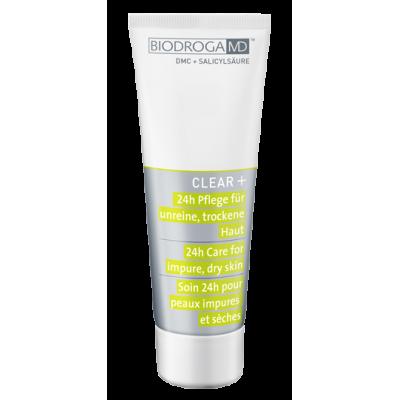 Крем для лікування проблемної сухої шкіри 24-годинного дії Biodroga MD 24h Care for impure dry skin