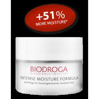 Інтенсивний зволожуючий 24-годинний крем для сухої і збезводненої шкіри Biodroga 24-h Care for moisture-deficient skin dry skin