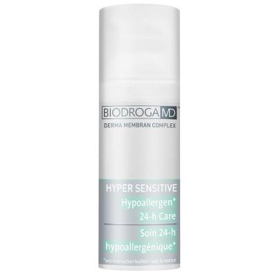 Гіпоалергенний крем 24-годинної дії для сухої чутливої шкіри Biodroga MD Hypoallergen 24-h Care for very sensitive and dry skin