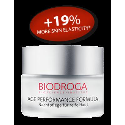 Омолоджуючий нічний крем для зрілої шкіри Biodroga Night Care for mature skin