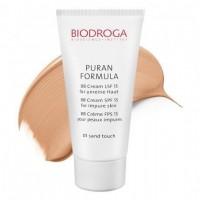 ВВ крем для проблемної шкіри СПФ-15 тон 01 пісочний Biodroga BB Cream SPF15 for impure skin