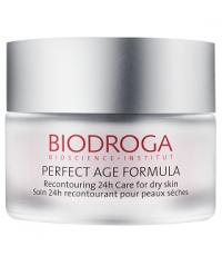 V-ліфтинг крем 24-годинний догляд для сухої шкіри Biodroga Recontouring 24H Care extra rich