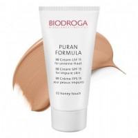 ВВ крем для проблемної шкіри СПФ-15 тон 02 медовий Biodroga BB Cream SPF15 for impure skin