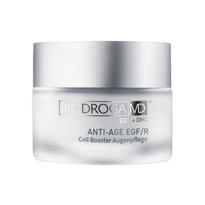 Клітинний крем для догляду за шкірою навколо очей з рецептором епідермального фактора росту (EGF/R) Biodroga MD Cell Booster Eye Care
